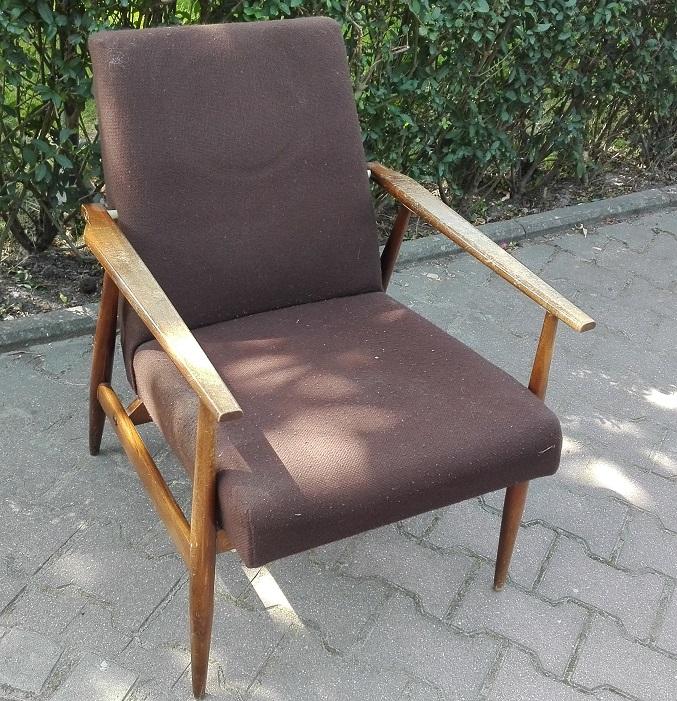 Fotel Lis do renowacji