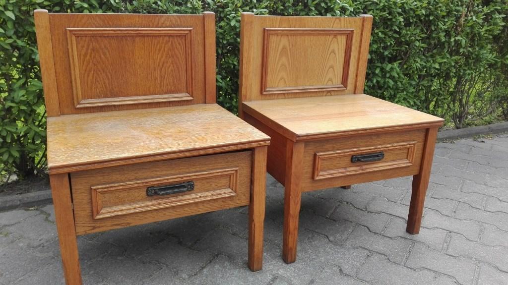 Siedziska z szufladami