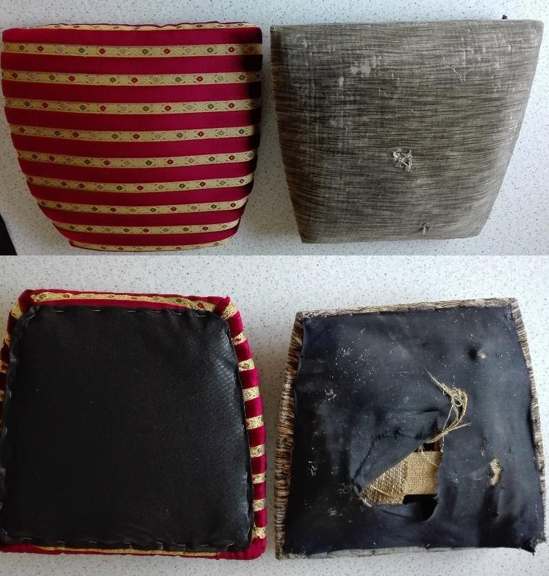 Wymiana tapicerki w siedziskach