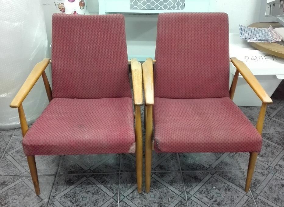 Stare fotele PRL H. Lis