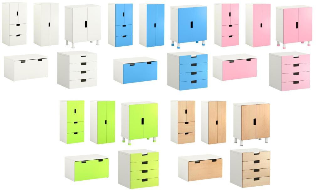 Ikea STUVA szafki i komody