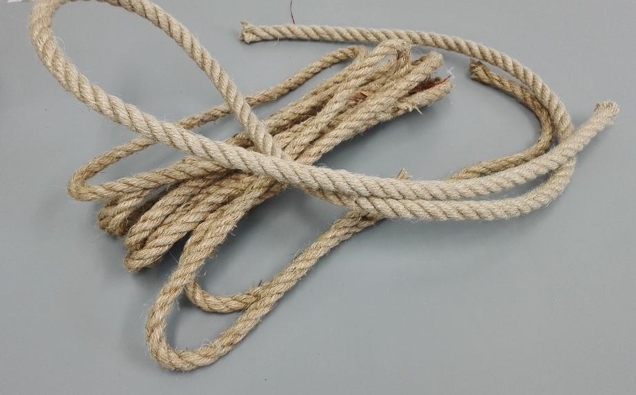 Sznurek jutowy, lina żeglarska