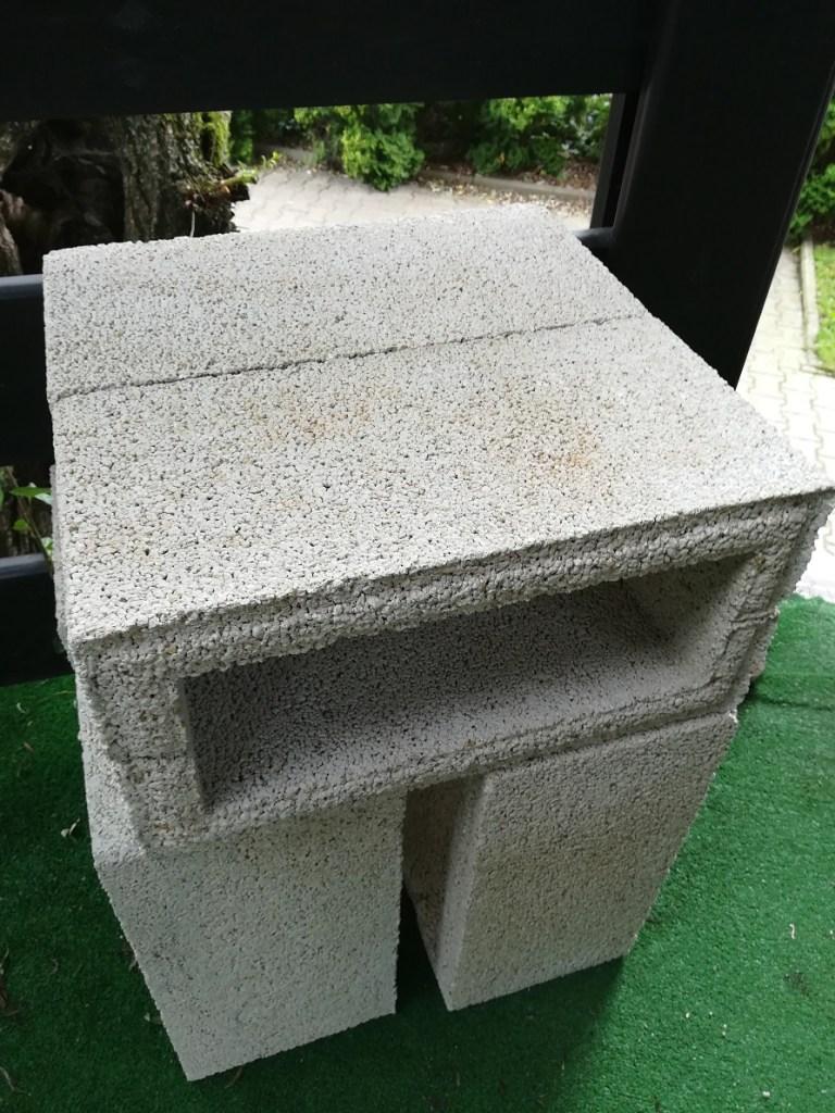 Betonowe bloczki