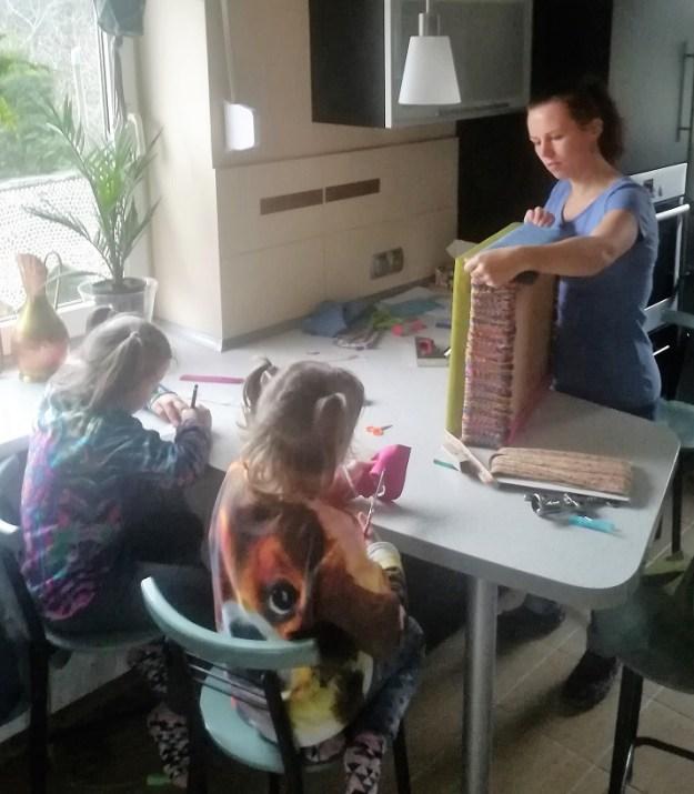 Prace artystyczne z dziećmi