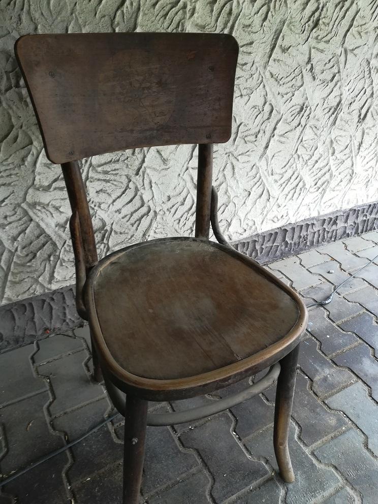 Odnawianie krzesła Thonet