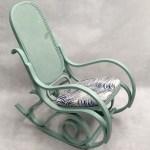 fotel bujany odnowiony na biegunach