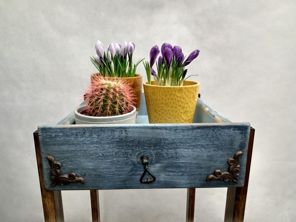 upcykling starych szuflad czyli jak wykorzystać stare szuflady