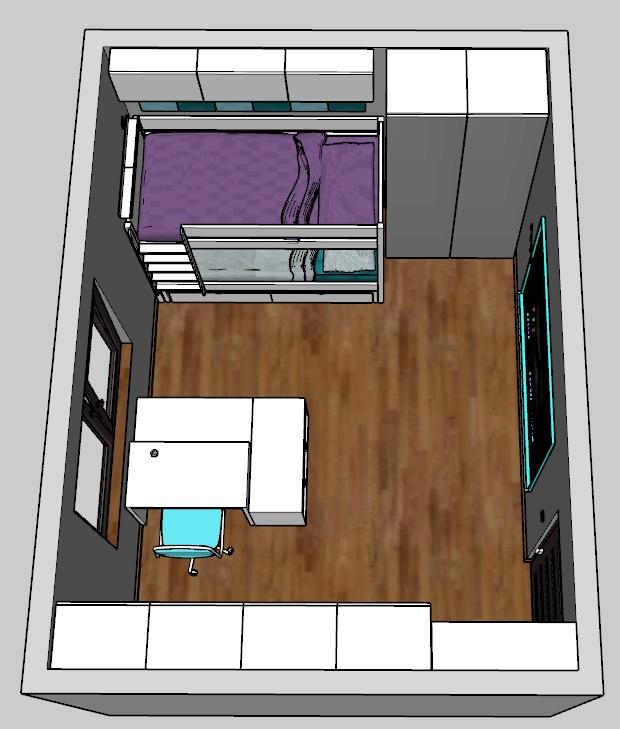 Pokój rodzeństwa 15 m2 jak urządzić