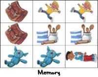 Le petit ogre veut aller à l'école - jeu de mémory