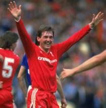 Kenny Dalglish of Liverpool