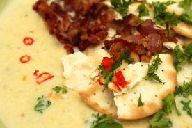 Thai chiles add kick to the creamy broth