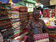 Most interesting fabrics in Guinea