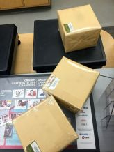 Parcels in the post