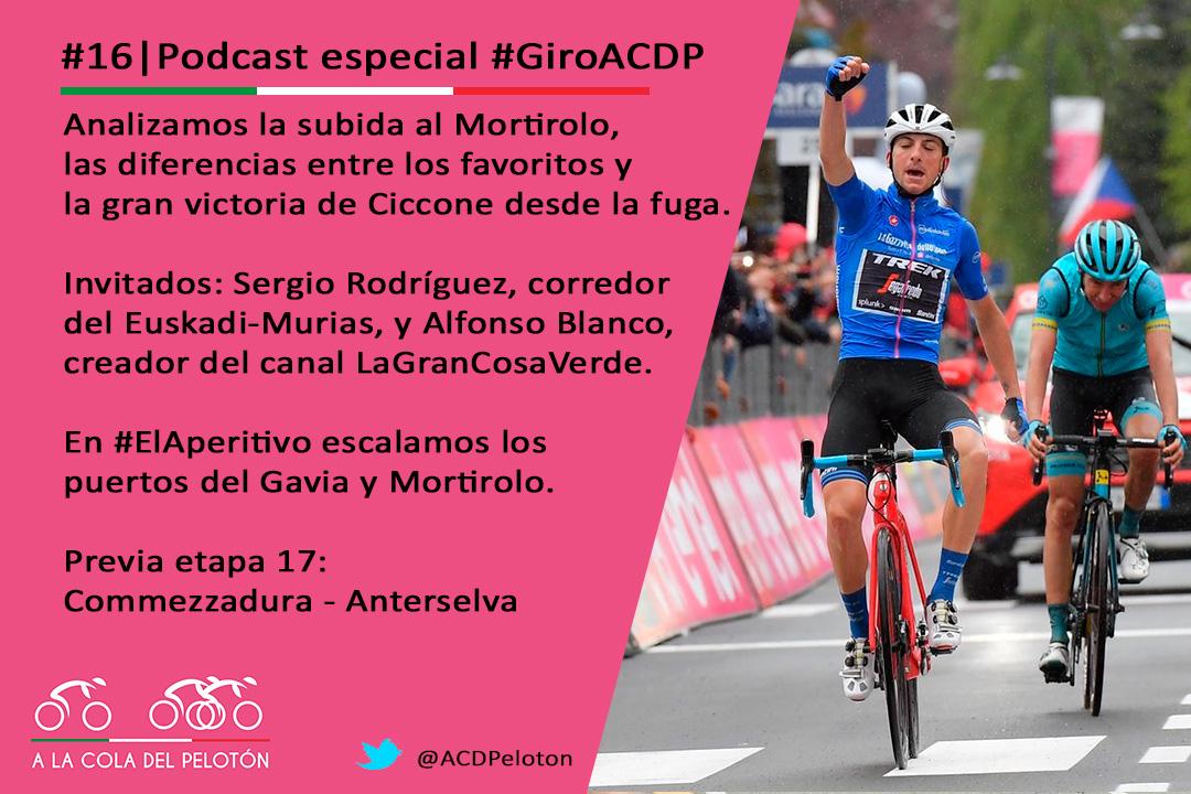 podcast ciclismo mortirolo ciccone nibali carapaz podcast ciclismo giro italia