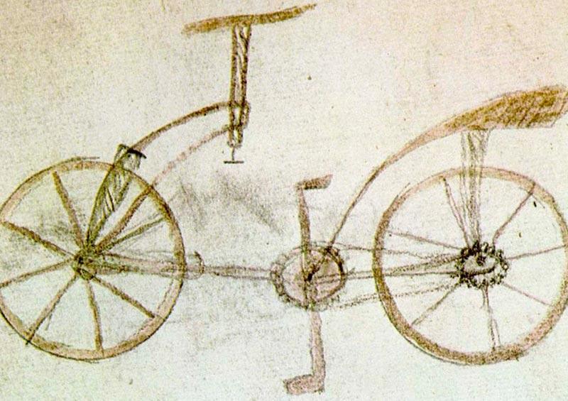 bicicleta leonardo da vinci podcast ciclismo