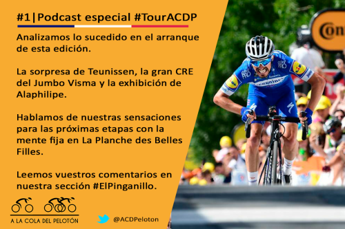 ciclismo podcast tour francia