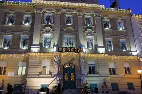 Budapest III Óbuda karácsonyi vásár Városháza