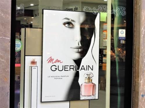 hol készült az angelina jolie guerlain reklámja?