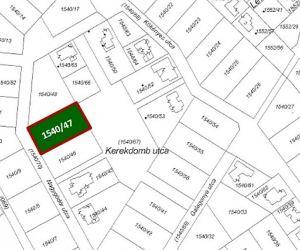 Eladó 1569 nm építési telek Etyek -Zöld Domb lakópark