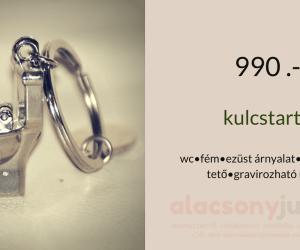 Kulcstartó -WC alakú-990ft