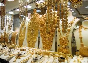 Dubai aranypiac bazár szouk