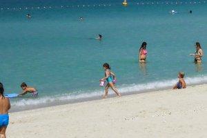 Dubai gyerek strand program