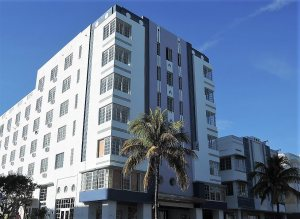 Art Deco negyed Miami Beach Florida