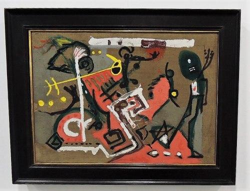 Pollock Art Basel Miami Beach Florida