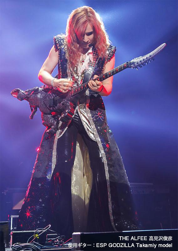 【音楽】高見沢俊彦がデザインしたゴジラ・ギター発売、限定5本で555万円
