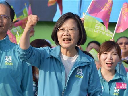 台湾総統選まで1カ月 蔡氏リード、同日の立法委員選も焦点