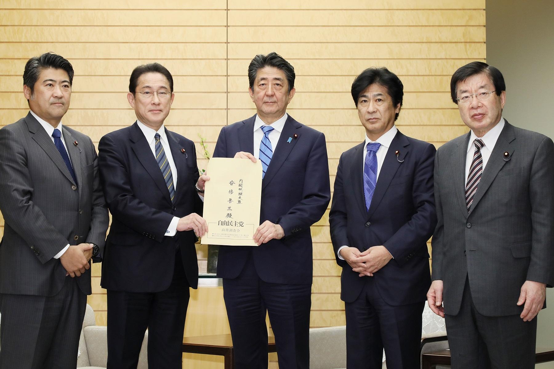 首相動静(3月6日)
