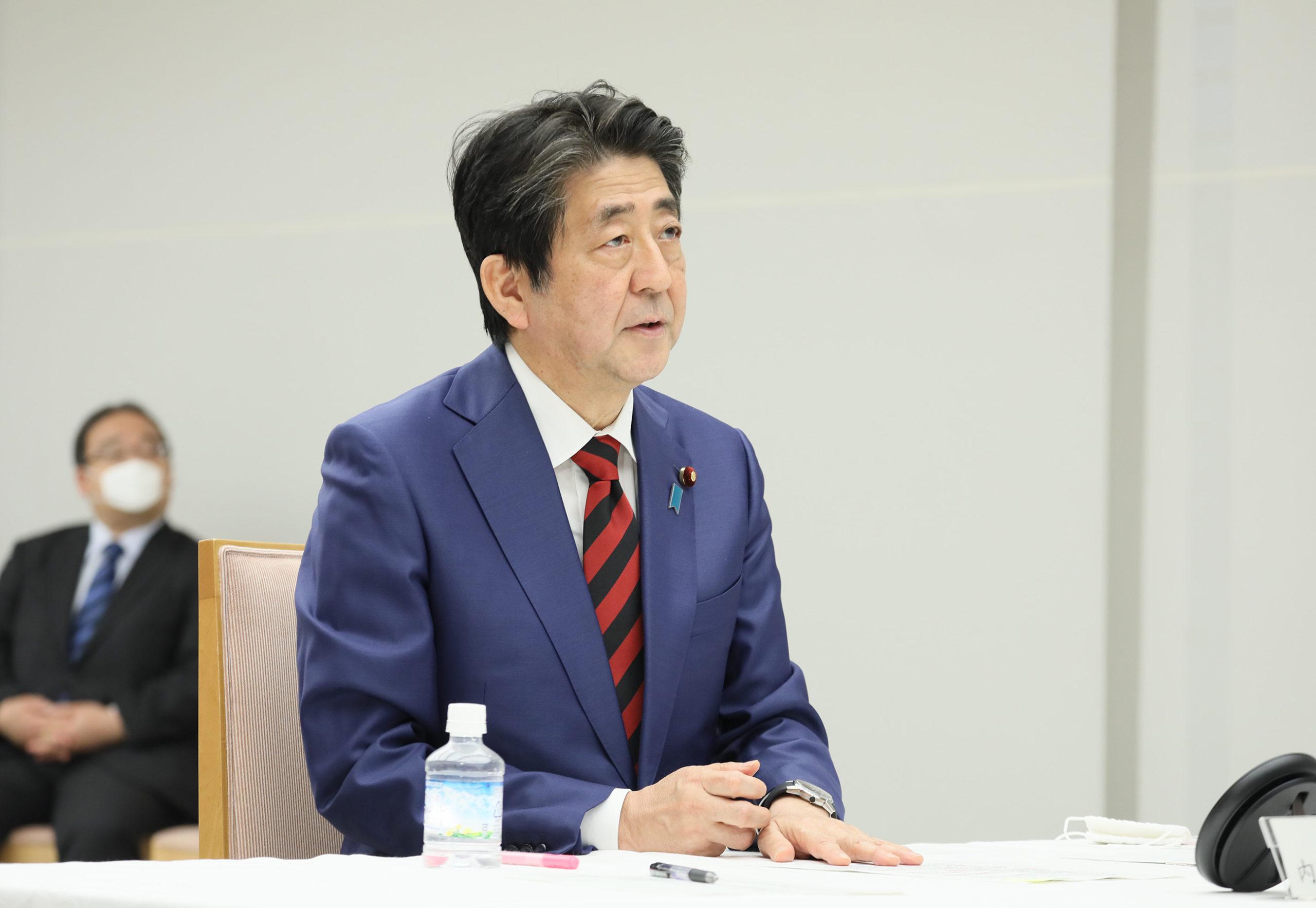 安倍総理は令和2年度補正予算成立及び緊急事態宣言の延長について会見を行いました