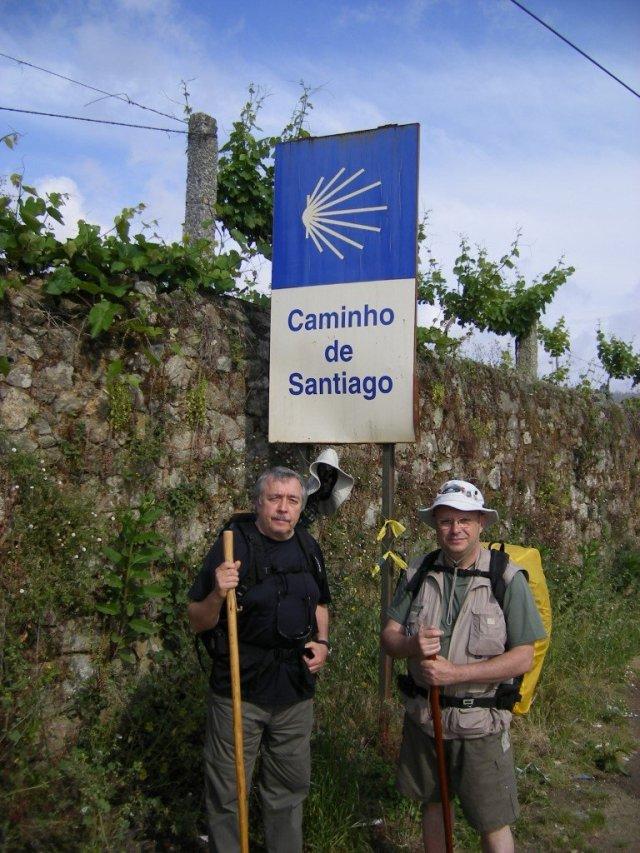 Una foto en el Camino Portugués