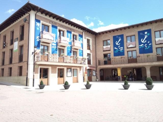 Plaza de Belorado. Oficina de turismo.