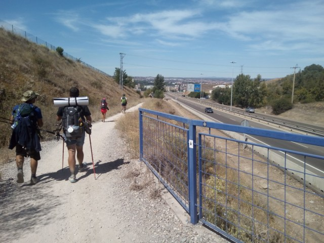 Entrando en León