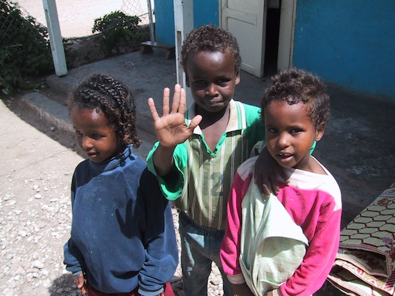 Beautiful orphans in Hargeisa.