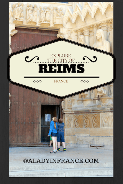 Explore the city and cathedral of Reims with @aladyinfrance