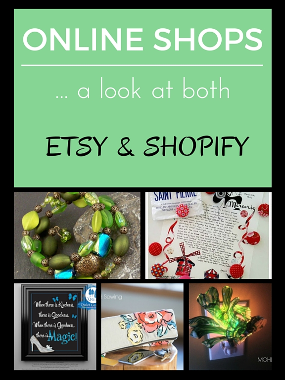 Artists share their thoughts on Etsy vs Shopify as a platform for online shops. See how they all got started.