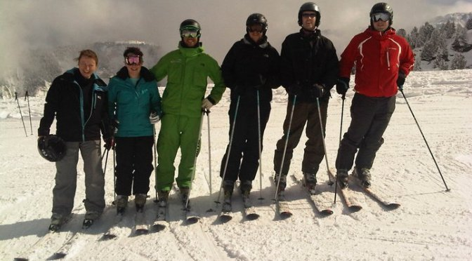 True grit: A first-time skier braves a British Military Fitness ski trip in Courchevel