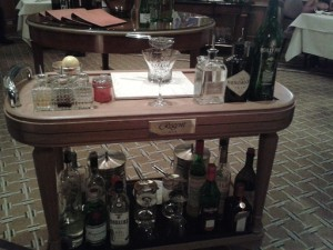 Martini trolley