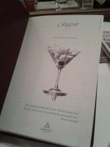 Martinimenu