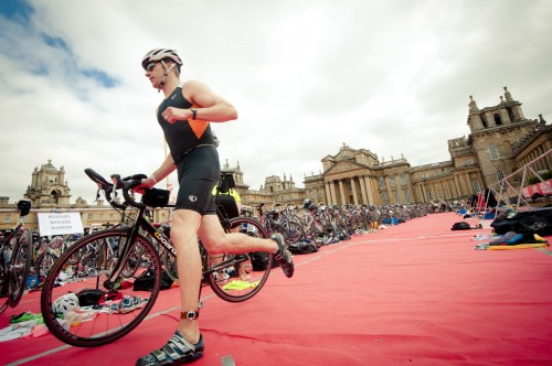 Preparing for the Blenheim Triathlon – your support for Leukaemia Research much appreciated