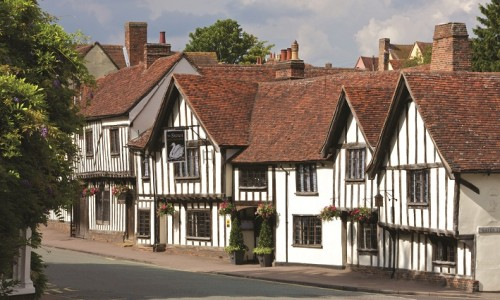 The Swan at Lavenham: a pub as charming as its location