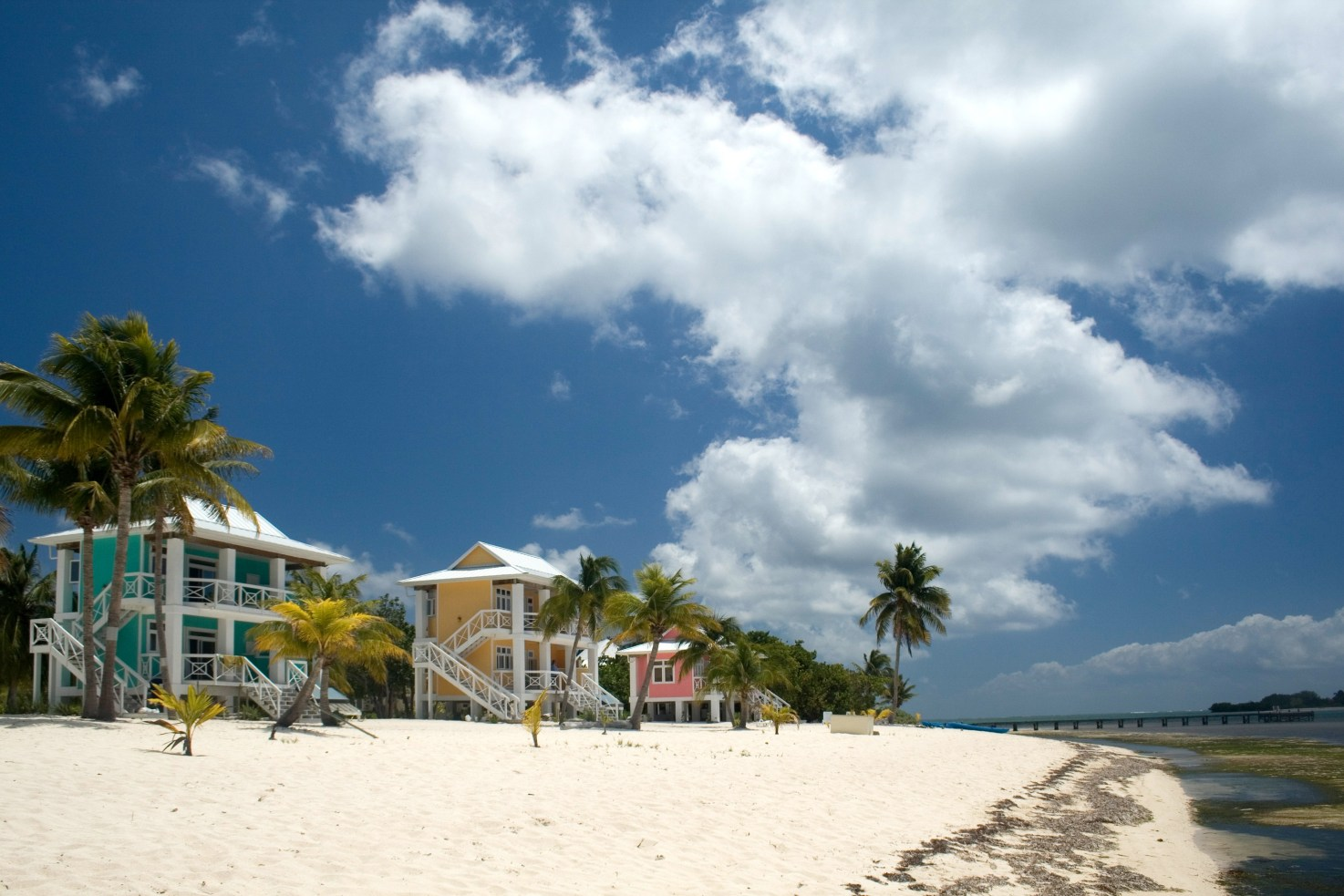 The Southern Beach resort on Little Cayman