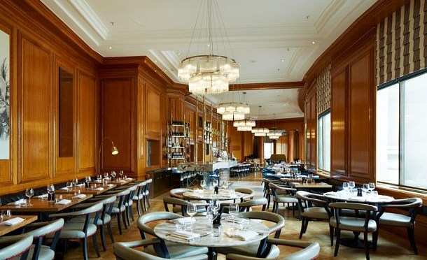 Gillray's Steakhouse & Bar: lunch with a view
