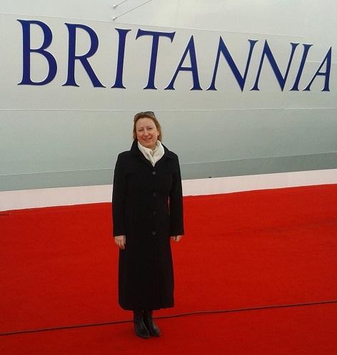 The Queen launches P&O Cruises new ship Britannia