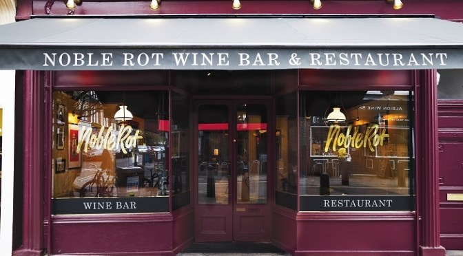 Noble Rot on Lamb's Conduit Street, a welcome addition to memory lane