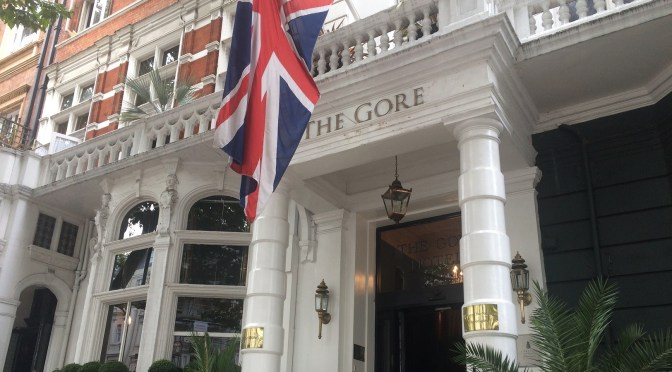 The Gore Hotel: history, luxury and some rock and roll cocktails