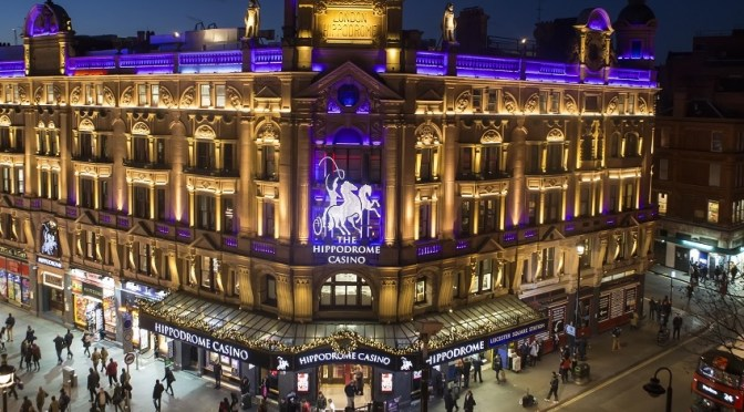 A timely jackpot at the Hippodrome casino, Leicester Square, London