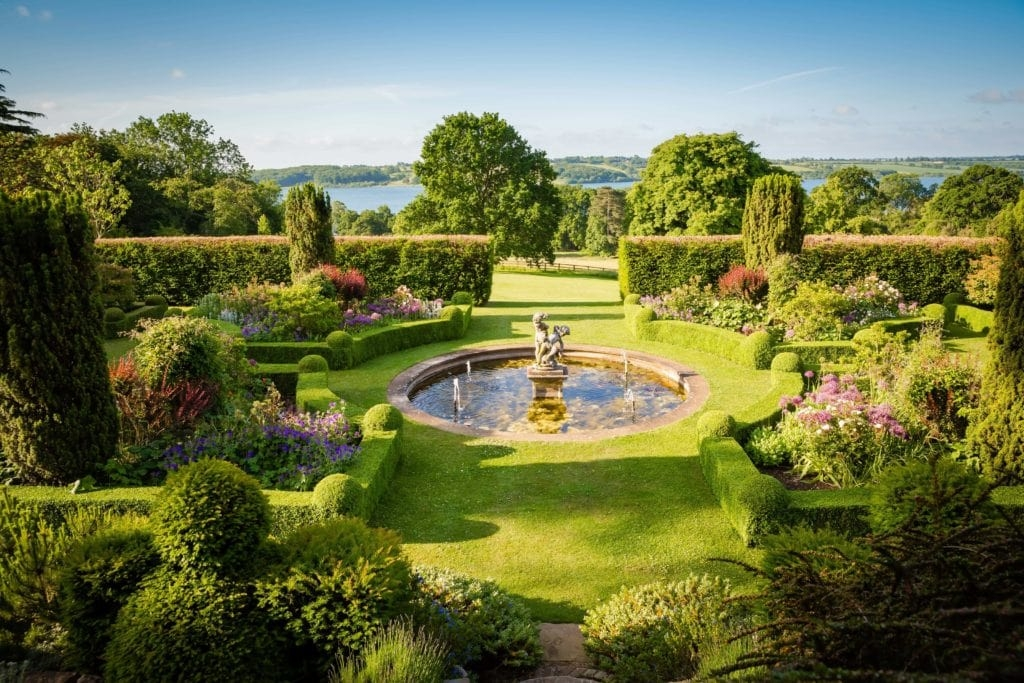 gardens at Hambleton Hall beautiful hotels with pools for the summer